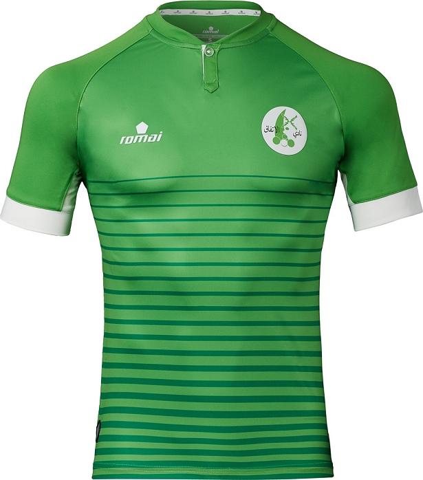 545e5deb44 Romai divulga as novas camisas do Al Ittifaq Club - Show de Camisas