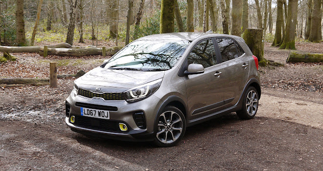 city car crossover kia picanto x line driven. Black Bedroom Furniture Sets. Home Design Ideas