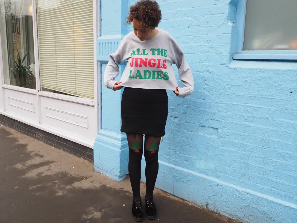 christmas jumper fashion blog