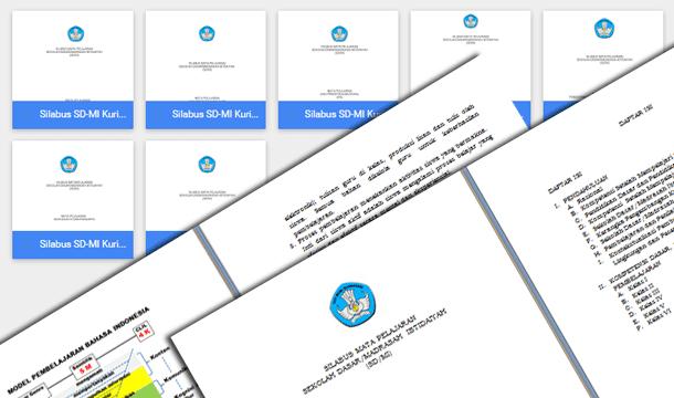 Silabus SD-MI Kurikulum 2013 Edisi Revisi 2016 Format Microsoft Word