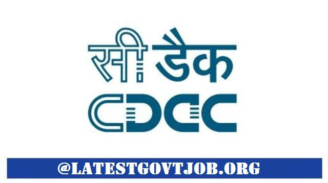 C-DAC Recruitment 2018