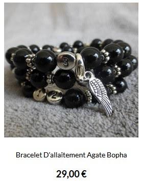 bracelet allaitement agathe