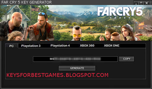 FAR CRY 5 KEYGEN SERIAL KEY FOR FULL GAME DOWNLOAD - Keysforbestgames