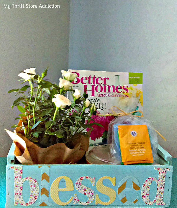 Blessing box gift basket alternative