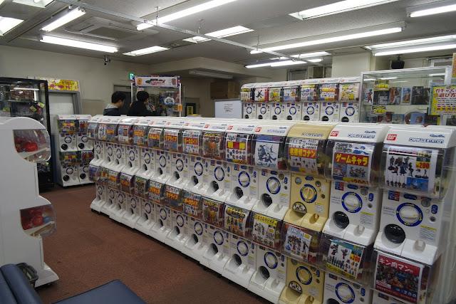 gachapon Tokyo