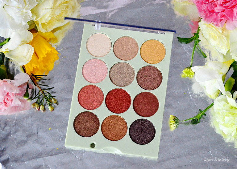 Pixi Eye Reflections Shadow Palette Reflex Light recenzja