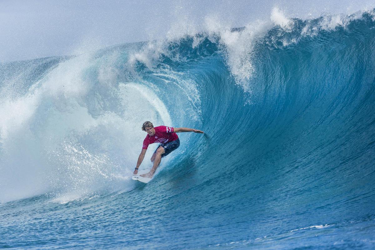 7 John John Florence Billabong Pro Tahiti foto WSL Kelly Cestari