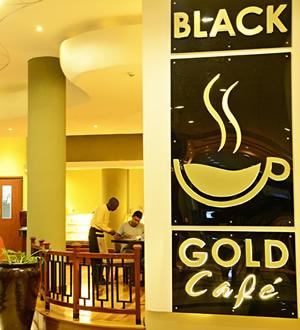 Panari Hotel Black Gold Cafe