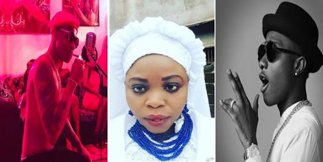 Lady To Embark On 21 Days Dry Fast For Wizkid (Photos)