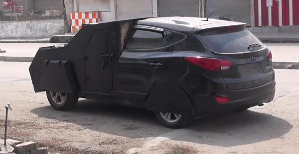 Hyundai Tucson của khủng bố IS