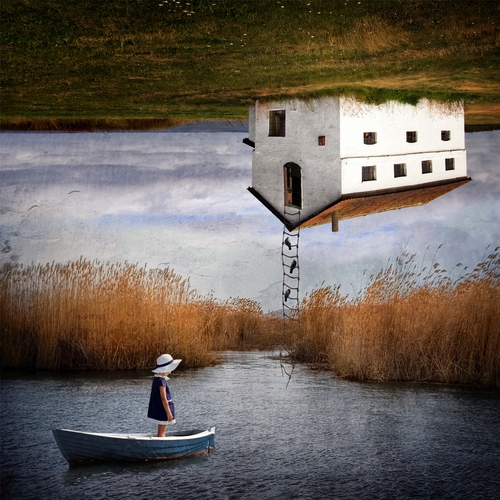 15-House-over-Lake-Sarah-DeRemer-You-Are-what-You-Eat-Photo-Manipulation-www-designstack-co
