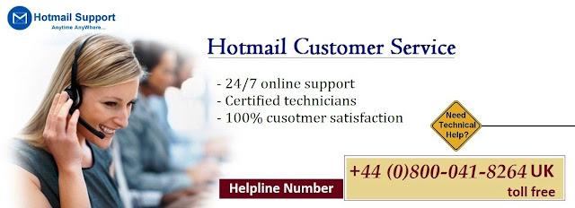 Hotmail-Customer-Service-Number-UK