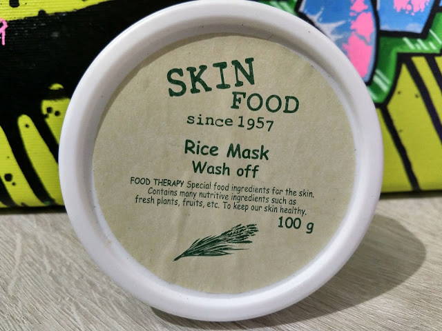 SKIN FOOD: Rice mask - Wash off