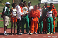 2011 FAMU men's cross-country team