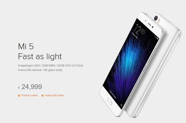 new Xiomi Mi 5, new Mi 5 smartphone, new Mi 5 smartphone 2016