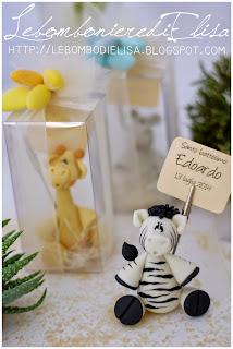 bomboniere battesimo giraffa