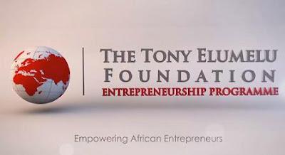 Tony Elumelu Foundation (TEF) 2018 Entrepreneurship Programme Form Out