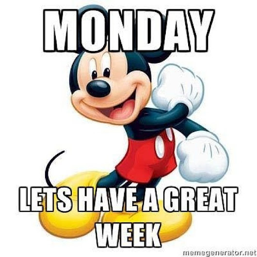 MICKEY MOUSE MONDAY!