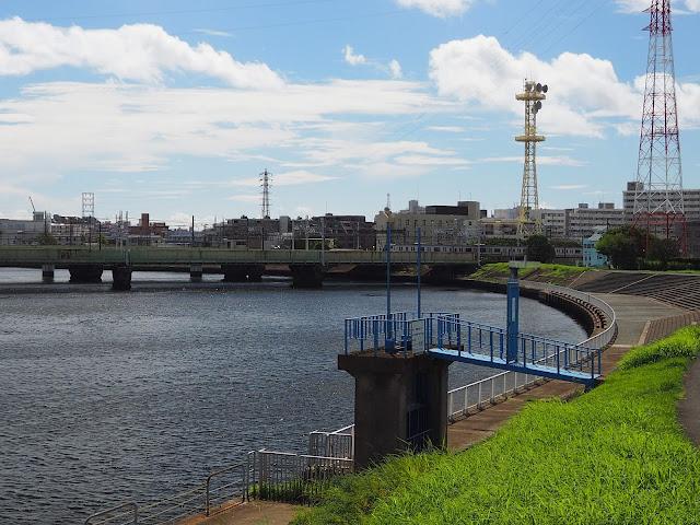 鶴見川 東海道本線