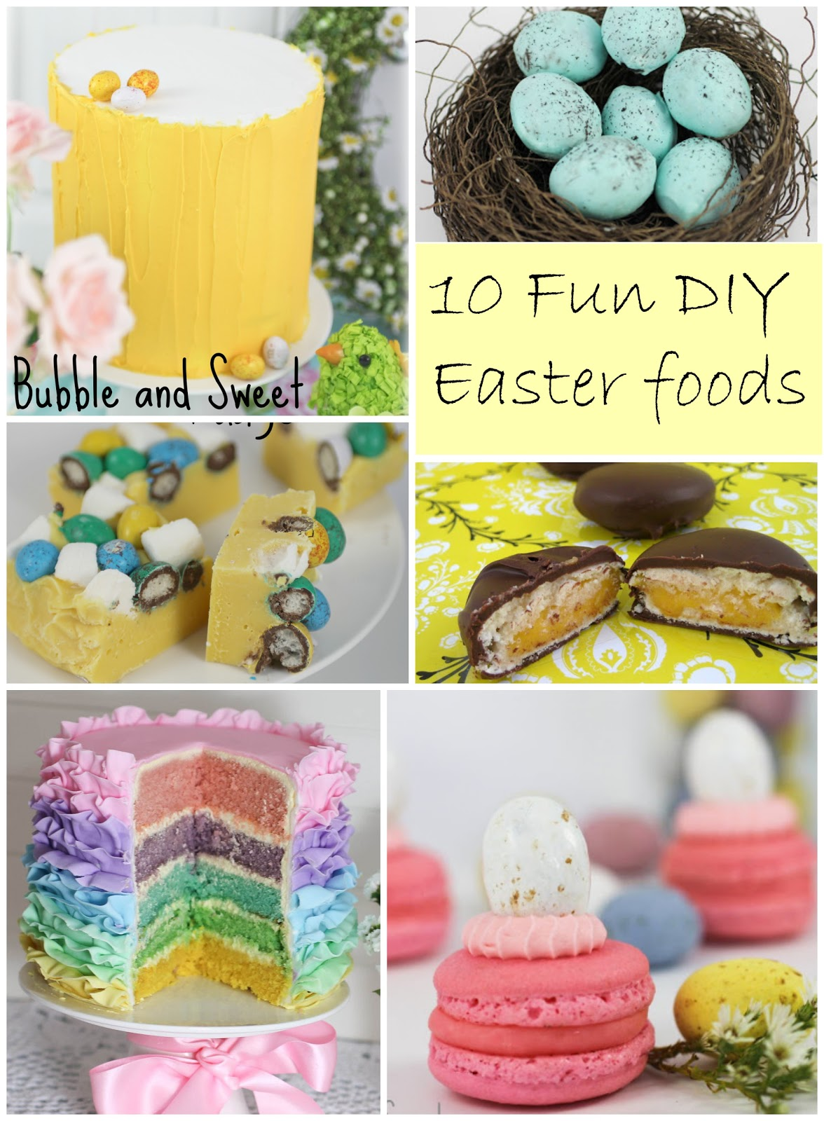 Bubble And Sweet 10 Fun Diy Homemade Easter Treats