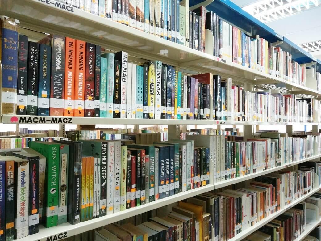 Buku-Buku Di Perpustakaan Negara Malaysia