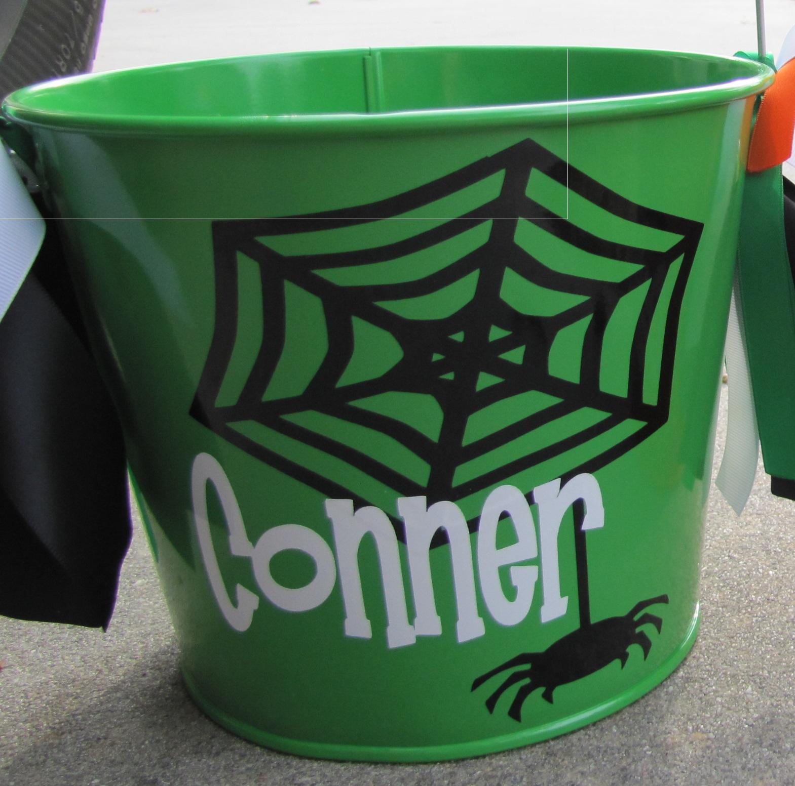 Dear Doodlez Designs Personalized Halloween Buckets 2013