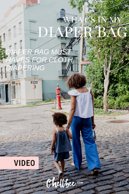 Diaper Bag Essentials   Must have items forfirst time moms leaving the house with baby! These tips are great for first time cloth diapering moms too. #motherhood #babygifts #diaperbag