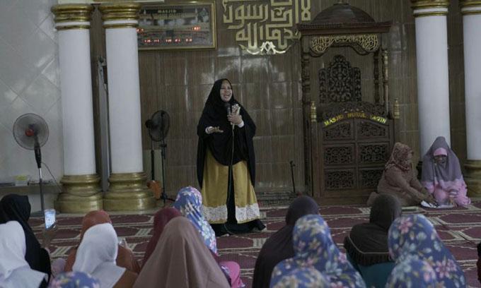Umi Aty Perkenalkan Program Rumah Qur'an di Pangkep
