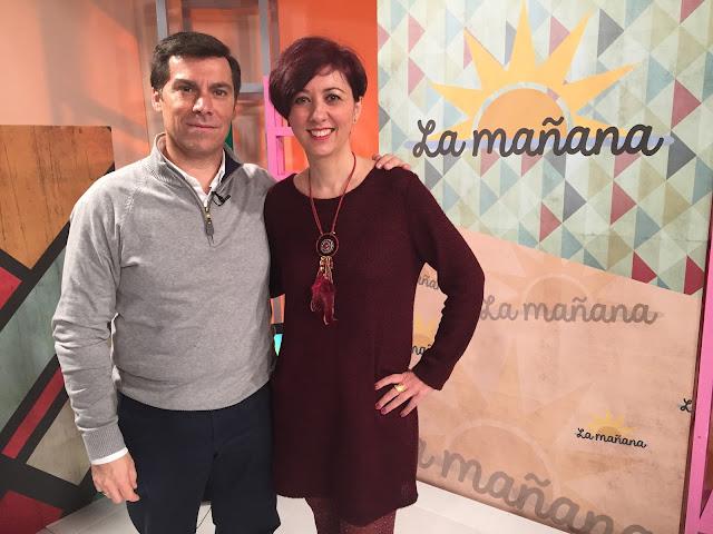 Spiral Personal. Gabinete Social & Coach, en Onda Jerez TV, hablando del Curriculum Vitae