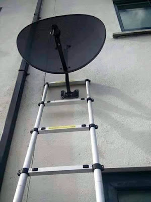 Installer son antenne parabolique soi-même : pas si facile !