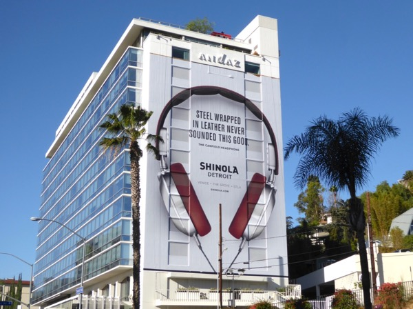 Canfield Headphone Shinola Detroit billboard