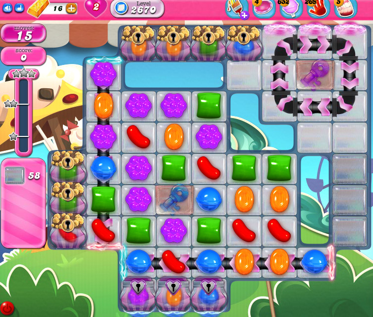 Candy Crush Saga level 2670