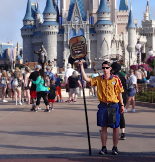 Magic Kingdom greeter Bradley Windle from Knoxville