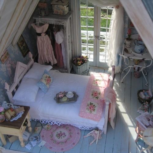 Casinha de Boneca (Miniaturas) - Dollhouse (Miniatures)