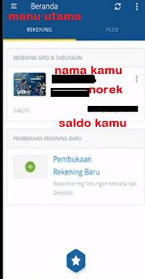 Gambar 1 cara Transfer pakai mandiri online