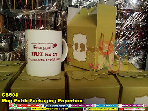 jual Mug Putih Packaging Paperbox