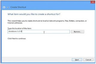 Cara Membuat Menu Shut Down, Restart, Hibernate, Sleep di Windows 8