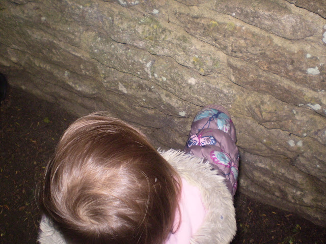 Eldest discovering a wall