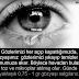 Göz Yaşı Sadece Ağlamak İçin Değildir