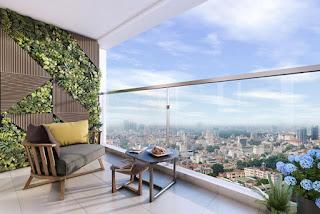 góc nhìn Căn hộ khách sạn Cocobay Đà Nẵng thoáng