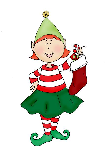Free Dearie Dolls Digi Stamps Elf Girl