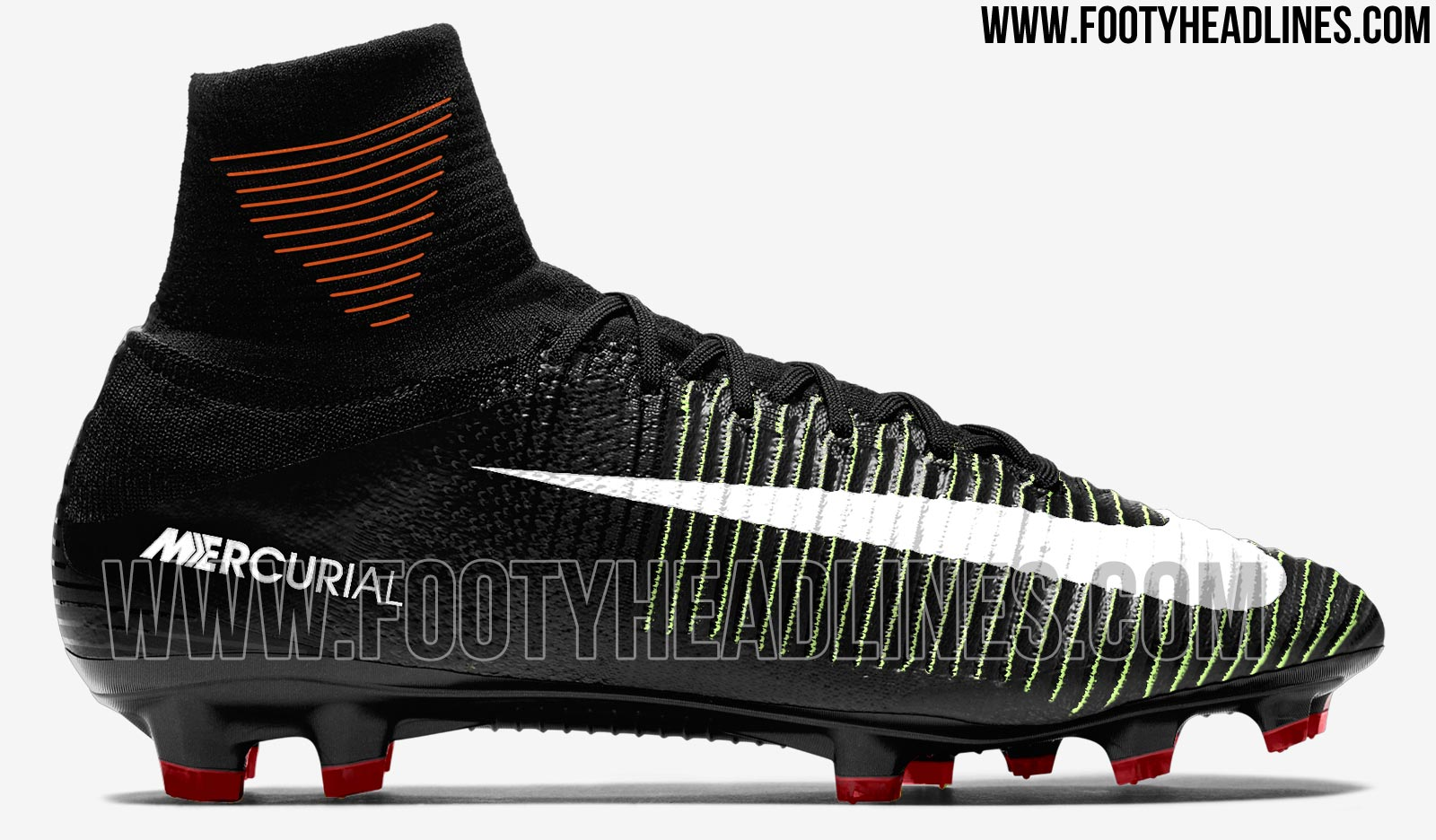 Black Nike Mercurial Superfly 5 2016-2017 Boots Leaked ...