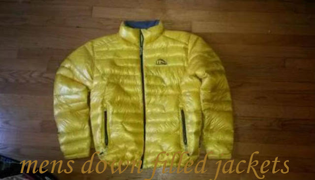 mens down filled jackets