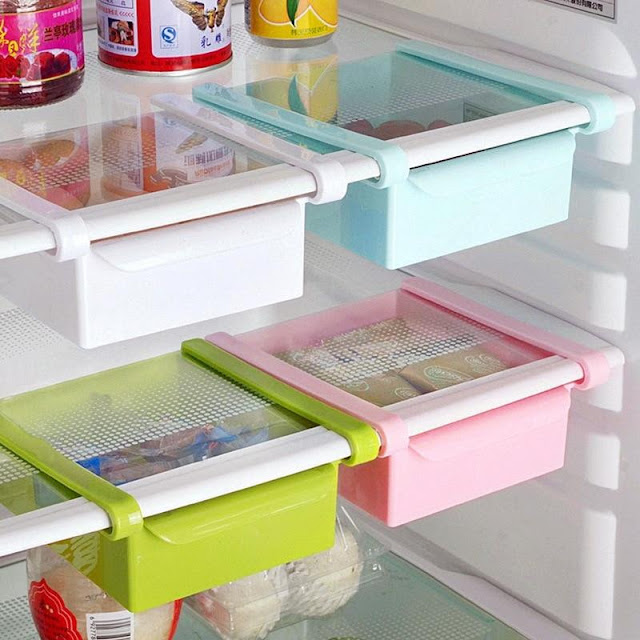 Creative Refrigerator Storage Shelf Drawer