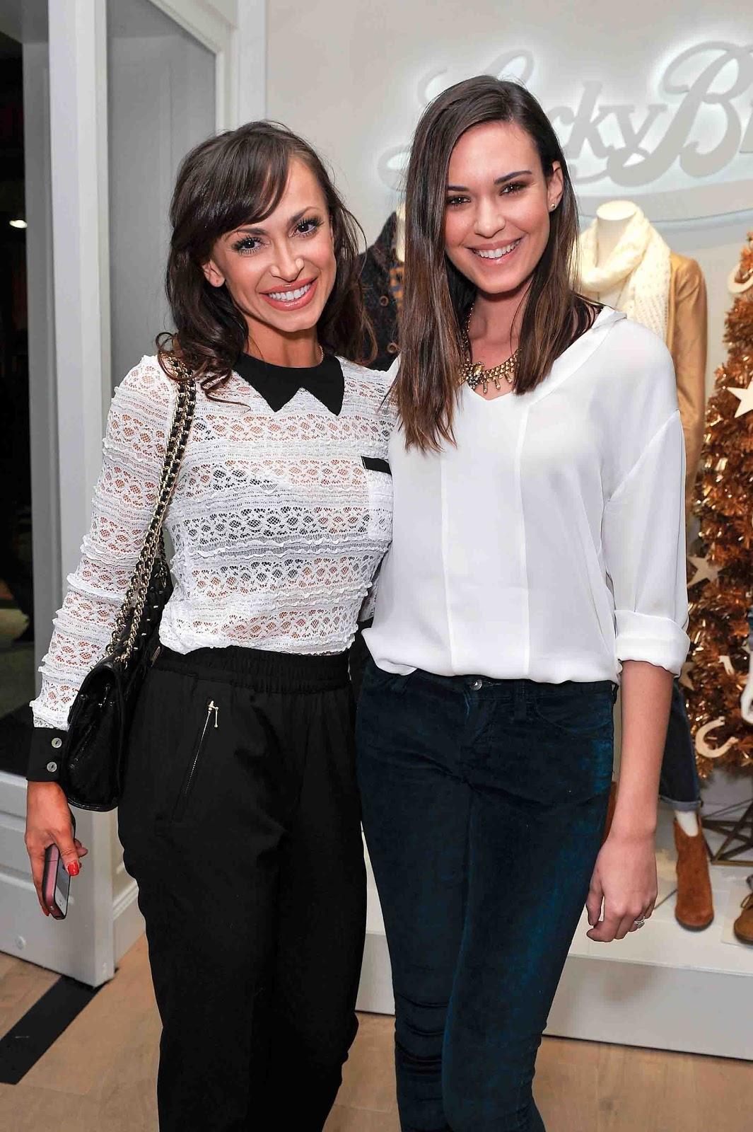Karina Smirnoff Wedding.Lucky Brand Vogue Celebrate California