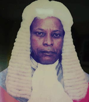 Former Delta State chief judge James Omo-Agege is dead