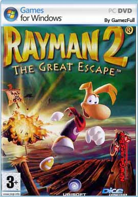 Descargar Rayman 2 The Great Escape para pc full no español.