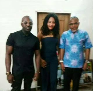 Nollywood Actor, Jim Iyke Visits Nnamdi Kanu (See Photos) 1