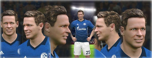 PES 2017 Sascha Riether Face by Drago