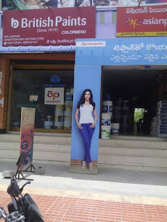 SRI LAKSHMI VENKTESWRA DISTRIBUTORS  BRITISH PAINTS DEALER TIRUPATI